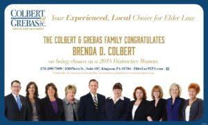 Brenda Colbert Honored as Times Leader's Distinctive Women